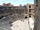 Bosra - Cavea (102 m, 17 000 places)